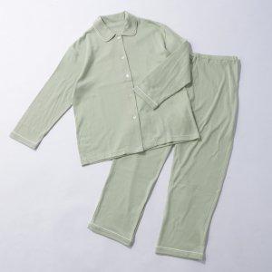 スマイルコットンレディース前開きパジャマ