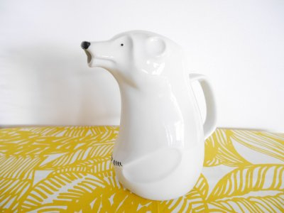 ARABIA SNOW BEAR Jug by Richard Lindh...