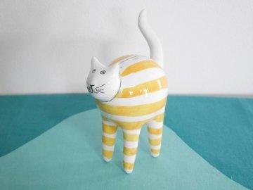 <img class='new_mark_img1' src='https://img.shop-pro.jp/img/new/icons48.gif' style='border:none;display:inline;margin:0px;padding:0px;width:auto;' />Cat ceramic figurine/デンマークのネコのかわいい陶器の置物