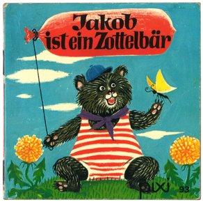 Jakob ist ein Zottelbär(ピクシー絵本93_ヤコブはもじゃもじゃくまさん)