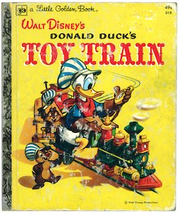 Donald Duck's Toy Train(リトルゴール...