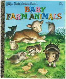 Baby Farm Animals (リトルゴールデン...