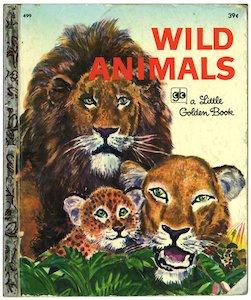 Wild Animals(リトルゴールデンブック4...