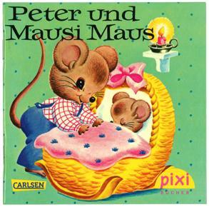Peter und Mausi Maus(ピクシー絵本1971_ねずみちゃんのおるすばん)