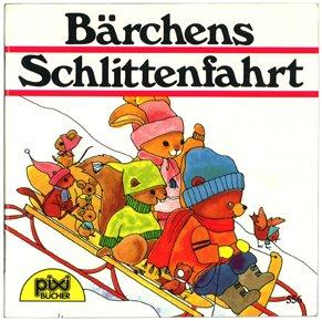 Bärchens Schlittenfahrt(こぐまのソリあそび)