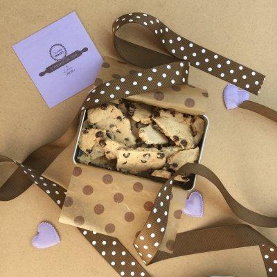 【在庫品】(季節限定)ザク割クッキー缶/チョコチップ