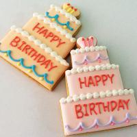 名前が入る★BIRTHDAYケーキクッキー