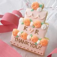 イニシャル入★AntiqueRoseデコレーションケーキ