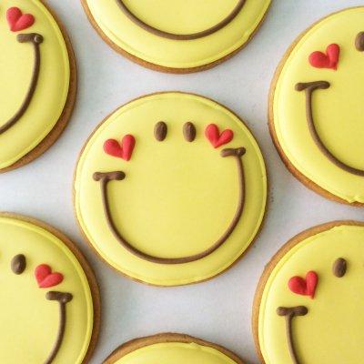 【在庫品】お礼に!お土産に♪用途いろいろHappySmileクッキー
