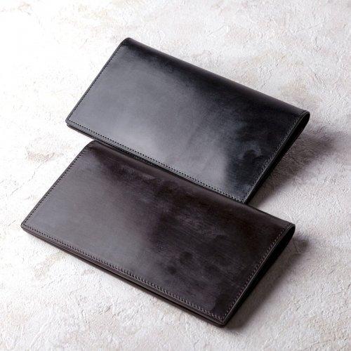 パスポートケース ブライドルレザー ブラック