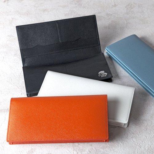 長財布(札束入れ)カーフ型押