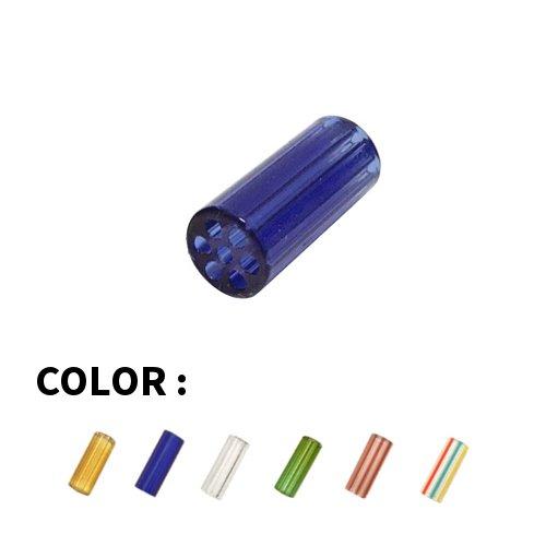 【メール便対応】 Blazing Blue Glass - ハニカムガラスクラッチフィルター