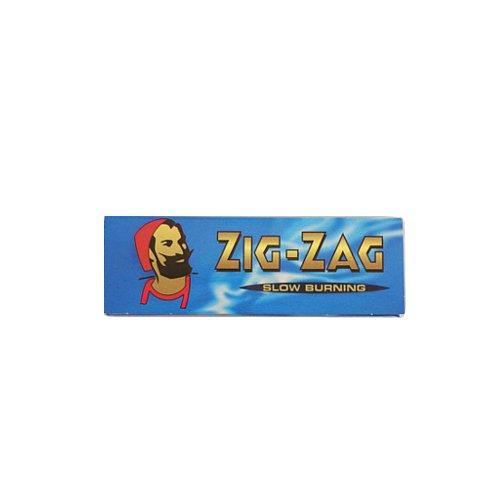 【メール便対応】 ZIG-ZAG ブルー シングル 69mm