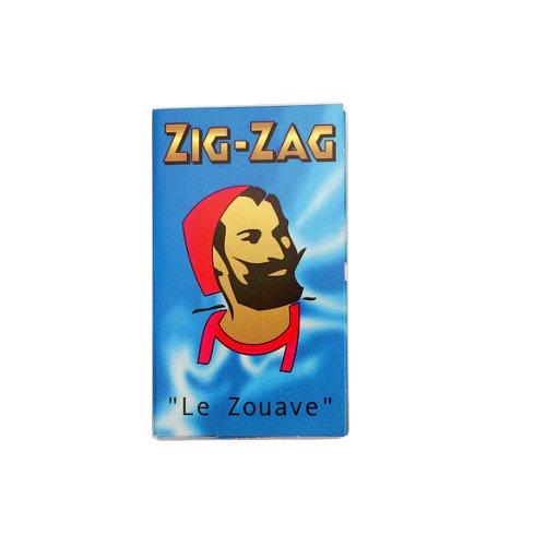 【メール便対応】 ZIG-ZAG ブルー ダブル 69mm