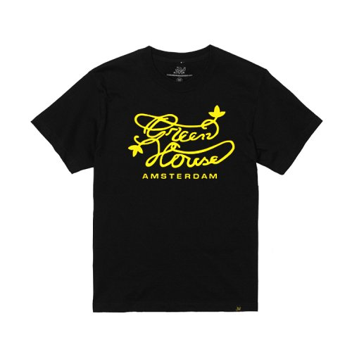Green House - オフィシャル ロゴTシャツ ブラック