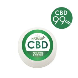 【送料無料】 NATUuR - Pure CBD Powder パウダー CBD99% 0.5g