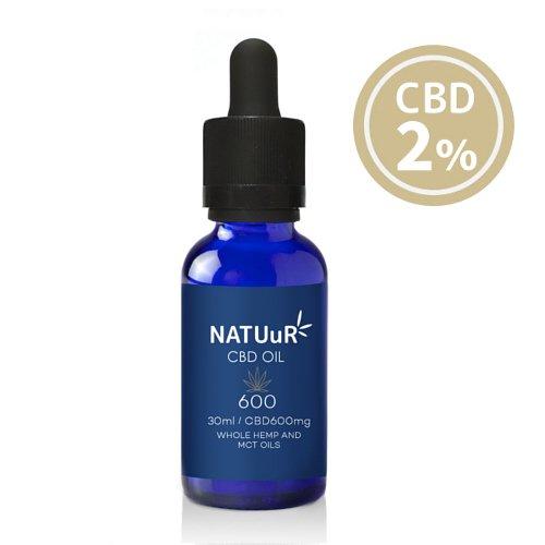 【送料無料】 NATUuR - CBD 2% Oil CBDオイル CBD600mg/30ml