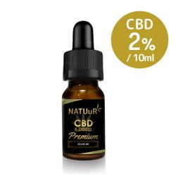 NATUuR CBD E-Liquid Premium CBD200mg/10ml