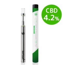 【メール便送料無料】 NATUuR - 420 Disposable CBD Pen CBD4.2% 使い捨てCBDペン