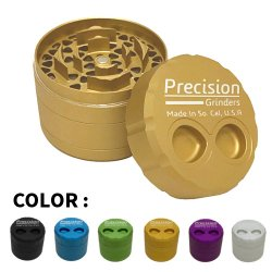 Precision Grinders - エクストララージハーブグラインダー 4パーツ