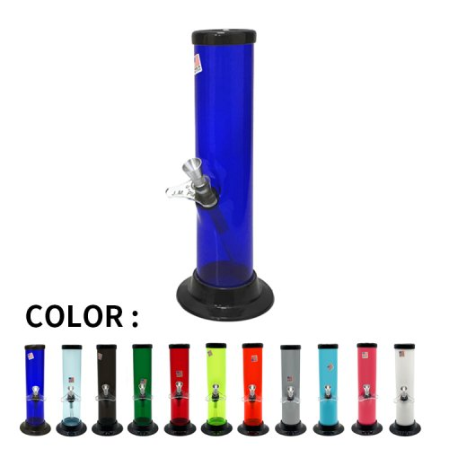 <img class='new_mark_img1' src='https://img.shop-pro.jp/img/new/icons58.gif' style='border:none;display:inline;margin:0px;padding:0px;width:auto;' />9 inch Acrylic Bong / Straight #A / 9インチ アクリル製ボング ストレート / USA