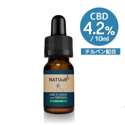 NATUuR CBD E-Liquid 420 with Terpenes CBD420mg/10ml テルペン配合