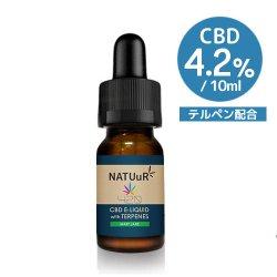 【送料無料】 NATUuR CBD E-Liquid 420 with Terpenes CBD420mg/10ml テルペン配合 CBDリキッド 420