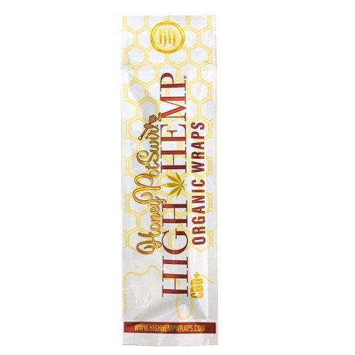 【メール便対応】 ヘンプラップ High Hemp Organic Wraps Honey Pot Swirl ハニー 2枚入り