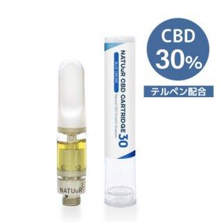 【メール便送料無料】 NATUuR - CBD 30% Oil Cartridge 0.5ml テルペン配合 CBDカートリッジ