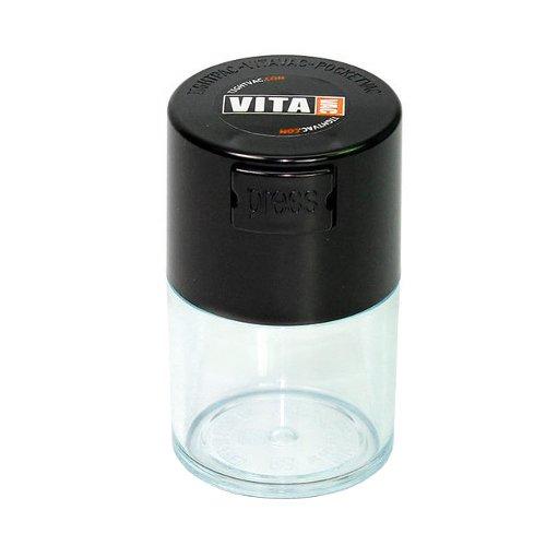 密閉保存容器 Tightvac - Vitavac クリア 0.06L/5g