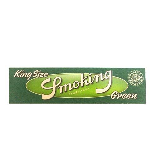 【メール便対応】 Smoking グリーン キングサイズ 108mm