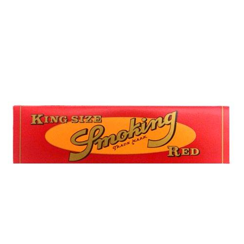 【メール便対応】 Smoking レッド キングサイズ 108mm