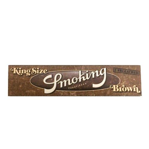 【メール便対応】 Smoking ブラウン キングスリムサイズ 108mm