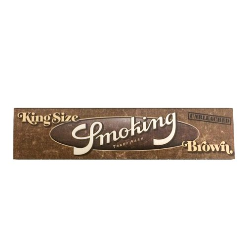 【メール便対応】 Smoking ブラウン キングサイズ スリム 108mm