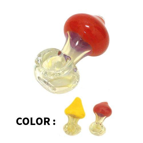 <img class='new_mark_img1' src='https://img.shop-pro.jp/img/new/icons24.gif' style='border:none;display:inline;margin:0px;padding:0px;width:auto;' /><50%OFF SALE !> Heavy Glass Art Fumed Mushroom Hand Pipe / ヘビーグラス素材 マッシュルーム型 アートパイプ