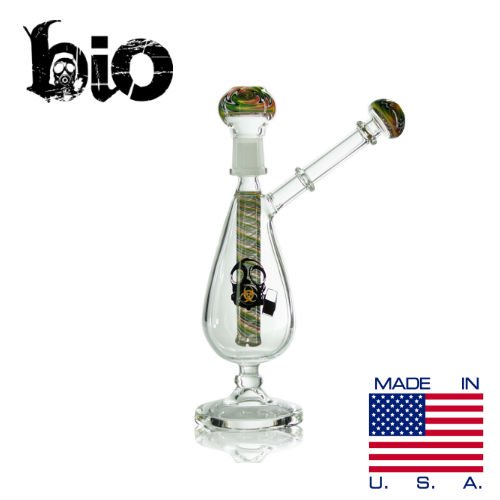 <img class='new_mark_img1' src='https://img.shop-pro.jp/img/new/icons50.gif' style='border:none;display:inline;margin:0px;padding:0px;width:auto;' />BIO GLASS / 9-inch BIO REVERSAL STEM OIL RIG 14MM / 9インチ WAX用コンパクトダバー