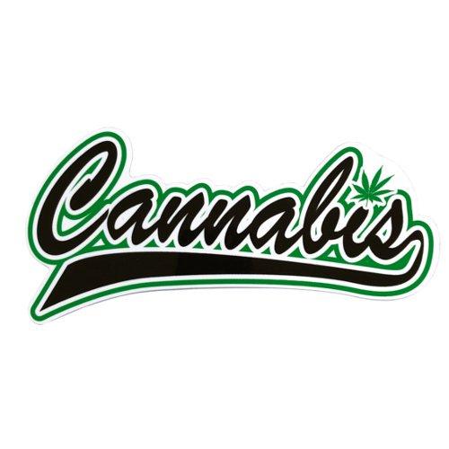 【メール便対応】 ステッカー - Cannabis