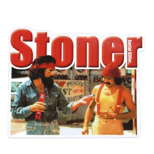 <img class='new_mark_img1' src='https://img.shop-pro.jp/img/new/icons31.gif' style='border:none;display:inline;margin:0px;padding:0px;width:auto;' />ステッカー - Cheech & Chong Stoner