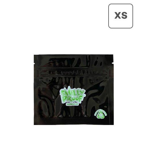防臭ジップバッグ Smelly Proof XSサイズ(111×126mm) ブラック