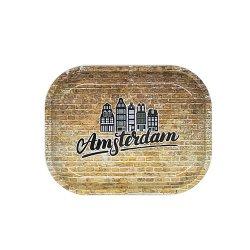"AMSTERDAM LOGO METAL TRAY ""SMALL"" / メタル ローリングトレイ"