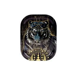 """V-SYNDYCATE × FIRST EARTH Collaboration / TIGER METAL TRAY """"SMALL"""" / メタル ローリングトレイ"""