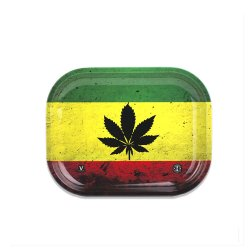 <img class='new_mark_img1' src='https://img.shop-pro.jp/img/new/icons58.gif' style='border:none;display:inline;margin:0px;padding:0px;width:auto;' />V-SYNDYCATE / RASTA LEAF METAL TRAY