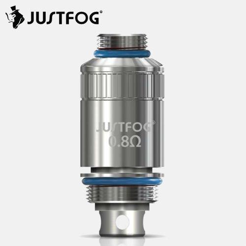 "JUSTFOG / ""MTL"" Coil Sylinder 0.8Ω 5pcs / ""ジャストフォグ"" 純正品交換用コイル 5個セット"