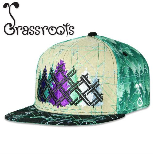 <img class='new_mark_img1' src='https://img.shop-pro.jp/img/new/icons39.gif' style='border:none;display:inline;margin:0px;padding:0px;width:auto;' />Grassroots / Laser Forest V2 Snapback CAP 【LIMITED EDITION】