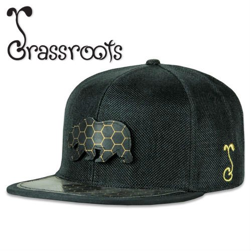 Grassroots / BearSlick Removable Bear 2018 Snapback CAP 【LIMITED EDITION】
