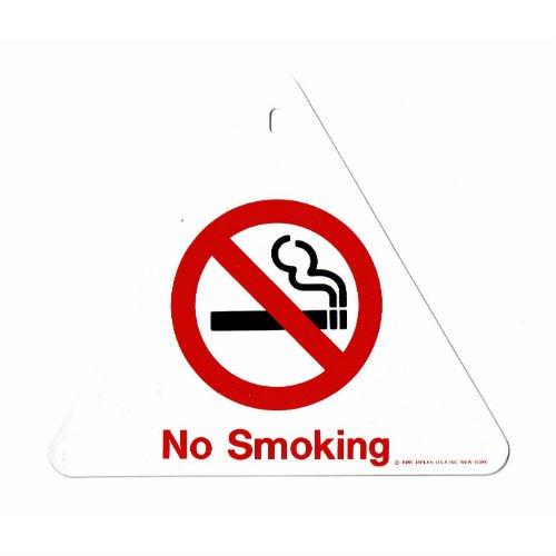 """【メール便対応】 DEADSTOCK """"NO SMOKING"""" Sign Plate / アメリカン雑貨 サインプレート"""