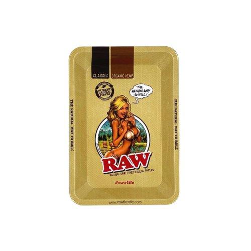 【メール便対応】 RAW メタルローリングトレイ GIRL ミニ
