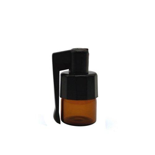 アクリルスプーン付き遮光ボトルミニサイズ / 嗅ぎタバコ用ボトル / Mini Quick Hit