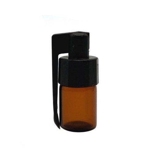 アクリルスプーン付き遮光ボトルミドルサイズ / 嗅ぎタバコ用ボトル / Medium Quick Hit