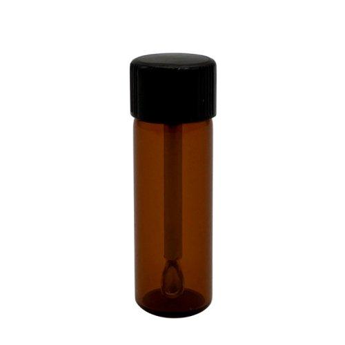 メタルスプーン付き遮光ボトルラージサイズ / 嗅ぎタバコ用ボトル / Large Quick Hit